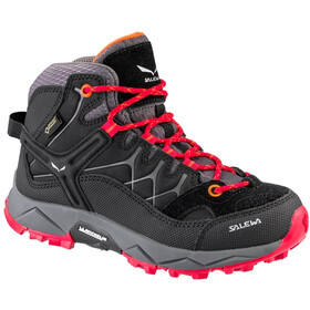 SALEWA Alp Trainer Mid GTX Shoes Kids black/bergrot